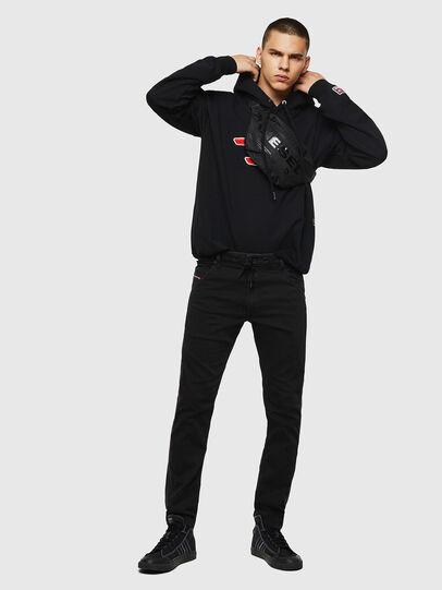 Diesel - Krooley JoggJeans 069JH, Black/Dark grey - Jeans - Image 5