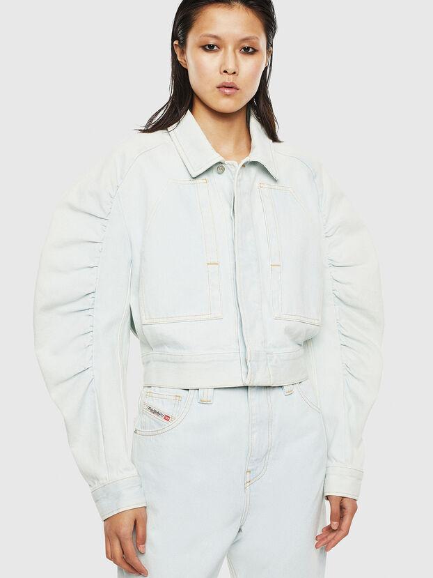 DE-MERYL-R, Light Blue - Denim Jackets