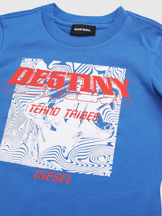 Diesel - TARRYB-R, Blue - T-shirts and Tops - Image 3