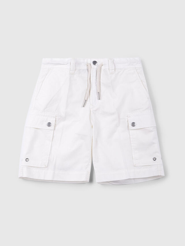 Diesel - PCLIVER, Off White - Shorts - Image 1