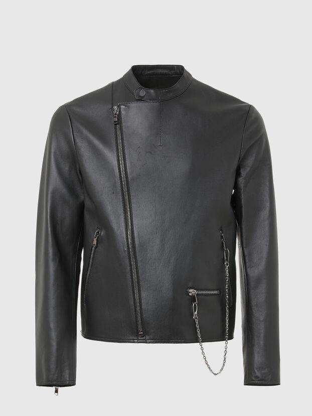 L-LIAM, Black - Leather jackets