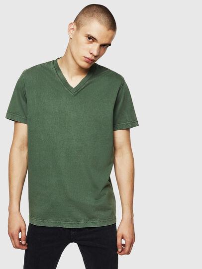Diesel - T-THEA, Dark Green - T-Shirts - Image 1