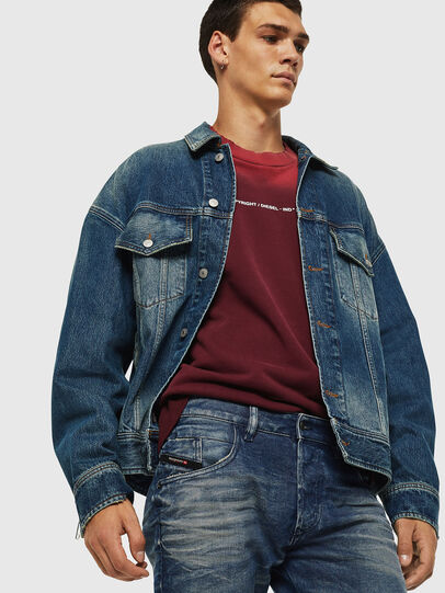 Diesel - D-Bazer 0090D, Medium blue - Jeans - Image 4