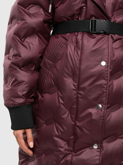 Diesel - W-LALLA, Violet - Winter Jackets - Image 4