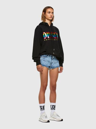 Diesel - S-GIR-HOOD-P, Black - Sweaters - Image 5