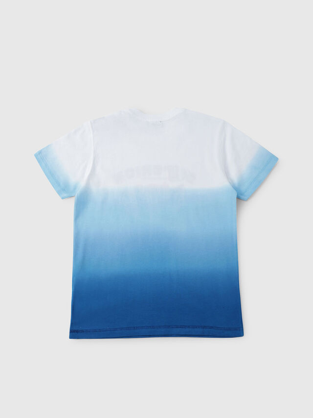 Diesel - TJOESR, White/Blue - T-shirts and Tops - Image 2