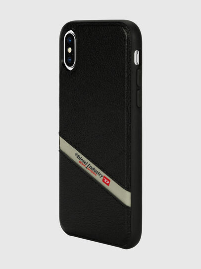 Diesel - DIESEL LEATHER CO-MOLD CASE FOR IPHONE XS & IPHONE X,  - Cases - Image 5