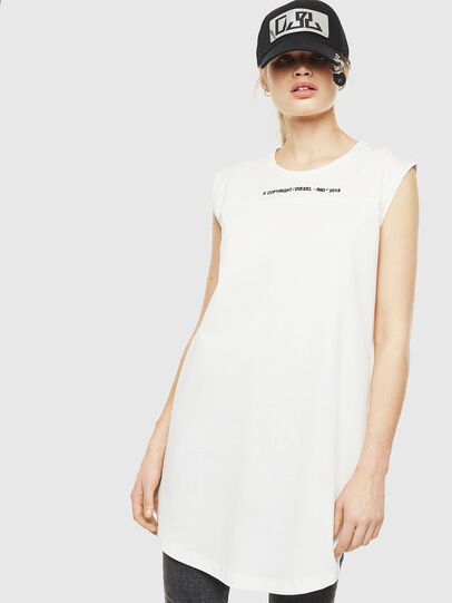 Diesel - D-FELIX, White - Dresses - Image 1