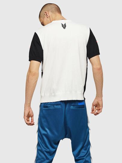 Diesel - K-MARITA, Black/White - Knitwear - Image 2