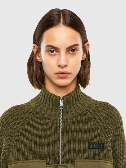 Diesel - M-EKA, Military Green - Knitwear - Image 4
