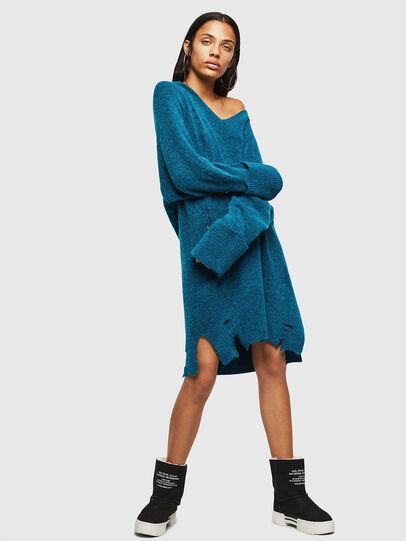 Diesel - M-NOELIA, Blue Marine - Knitwear - Image 1