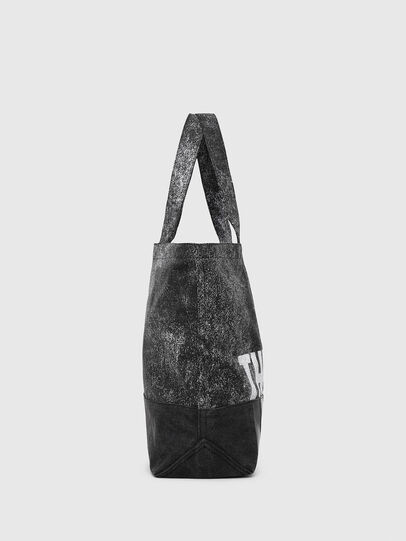 Diesel - D-THISBAG SHOP MB, Gray/Black - Shopping and Shoulder Bags - Image 3