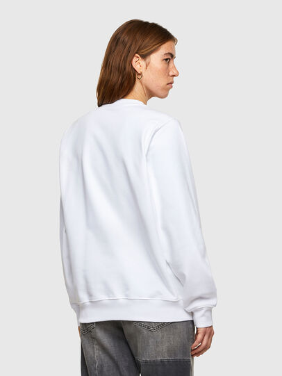 Diesel - F-ANG-SMALLOGO, White - Sweaters - Image 2