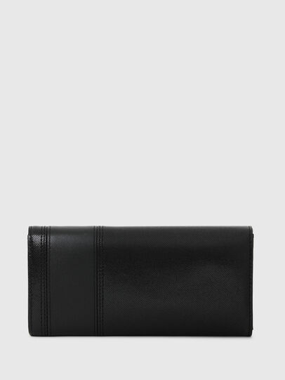 Diesel - 24 A DAY, Black - Continental Wallets - Image 2