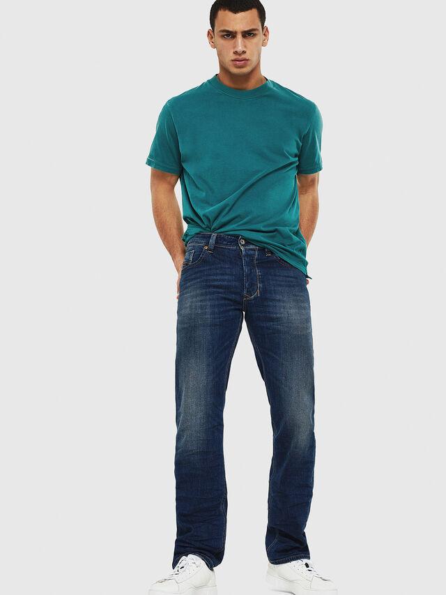 Diesel - Larkee 087AW, Dark Blue - Jeans - Image 5