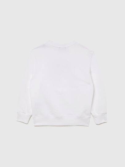 Diesel - SMUGD OVER, White - Sweaters - Image 2
