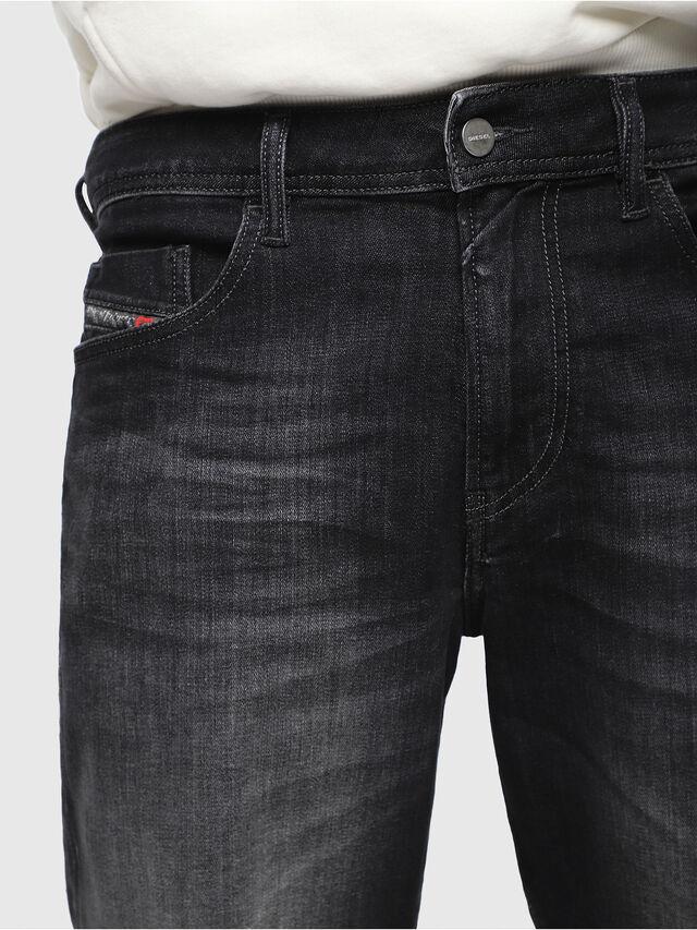 Diesel - THOSHORT, Black/Dark grey - Shorts - Image 3