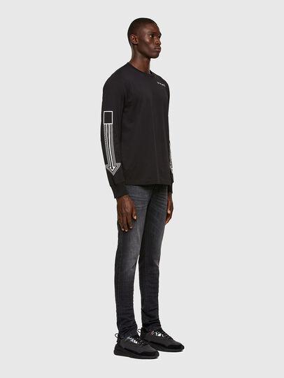 Diesel - D-Luster 009EN, Black/Dark grey - Jeans - Image 5
