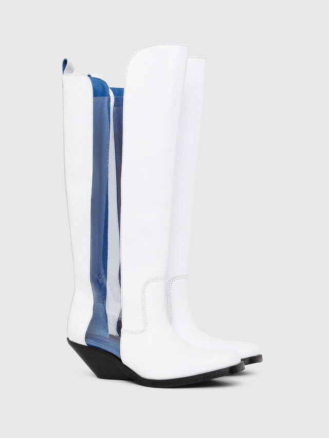 Diesel - D-GIUDECCA MBT, White - Boots - Image 2