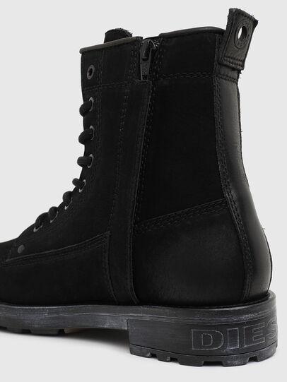 Diesel - D-THROUPER DBB ZC W, Black - Ankle Boots - Image 4