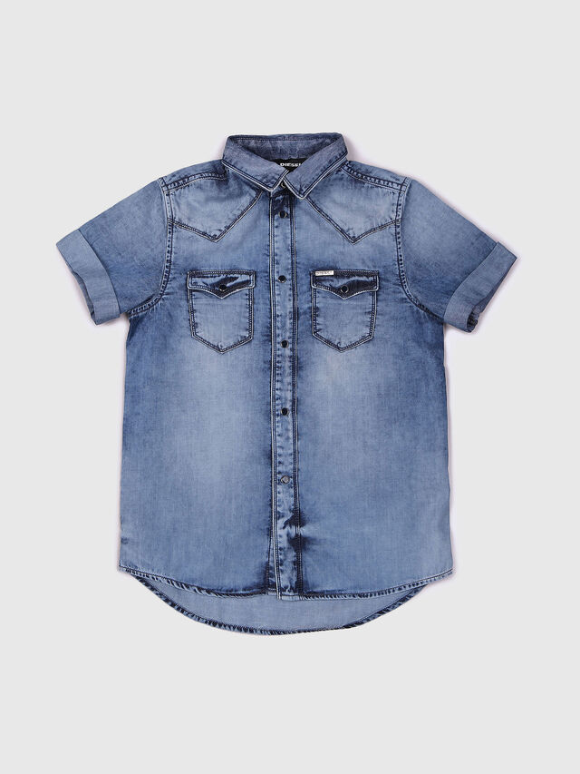 Diesel - CIRIX, Light Blue - Shirts - Image 1
