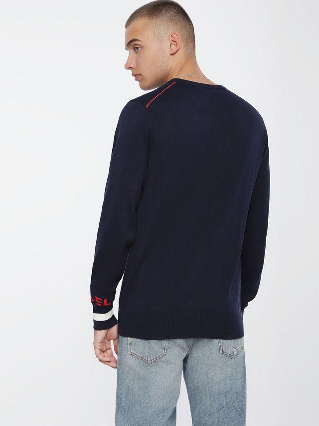 Diesel K-TOP, Blue - Knitwear - Image 2