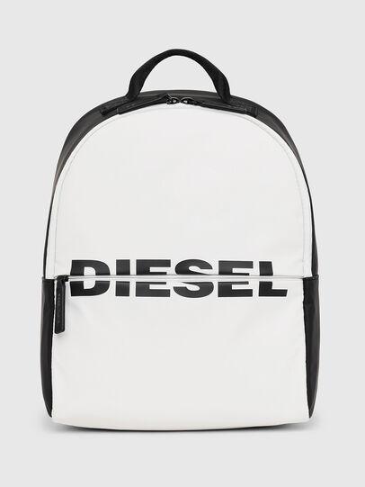 Diesel - BOLD BACKPACK, White/Black - Bags - Image 1