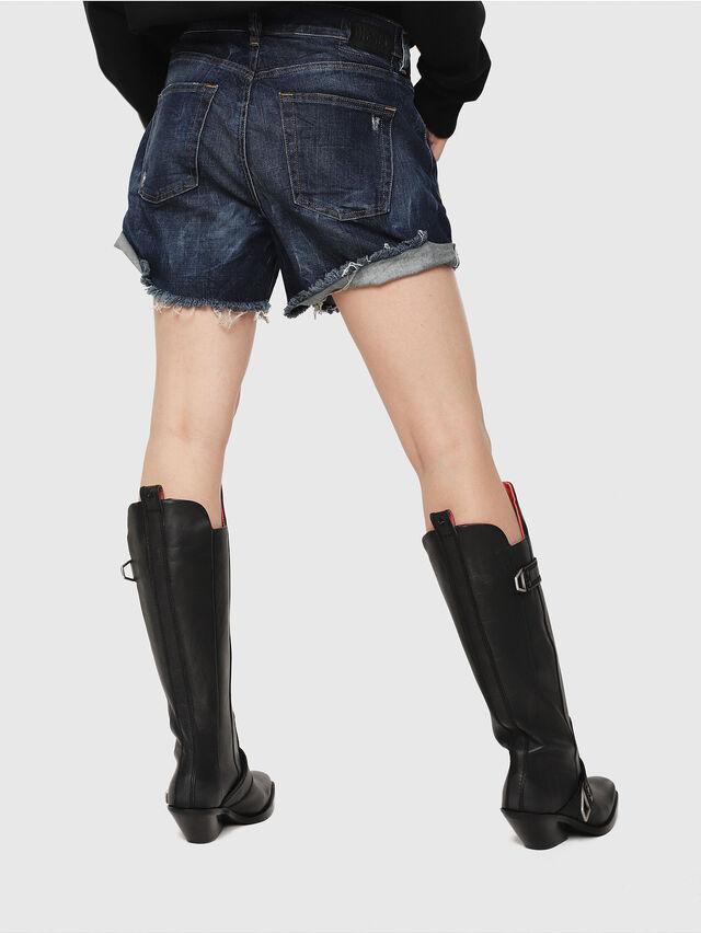 Diesel - DE-LOWY, Medium blue - Shorts - Image 2