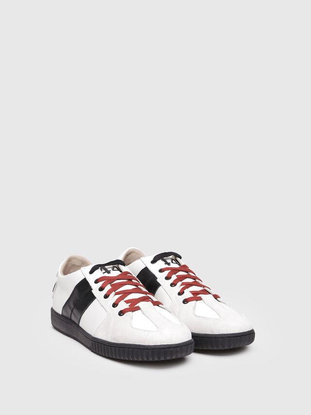 Diesel - S-MILLENIUM LC, White/Black - Sneakers - Image 2
