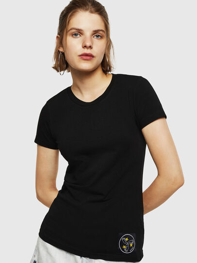Diesel - T-SUPERY-G, Black - T-Shirts - Image 1