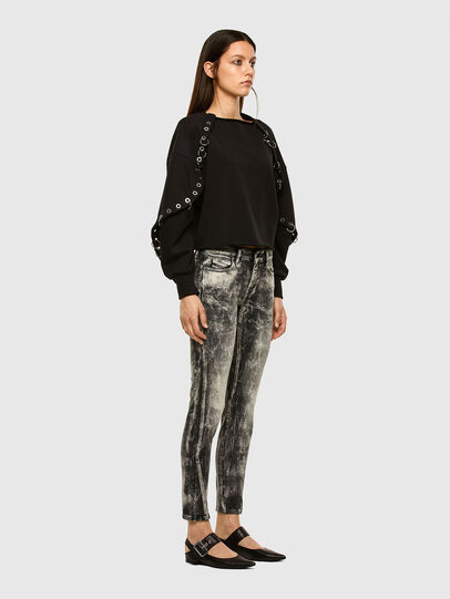 Diesel - D-Jevel 009FG, Light Grey - Jeans - Image 6