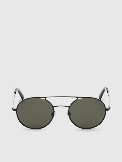 Diesel - DL0301, Black/Gold - Sunglasses - Image 1