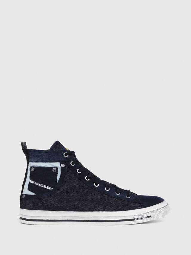 Diesel - EXPOSURE I, Dark Blue - Sneakers - Image 1