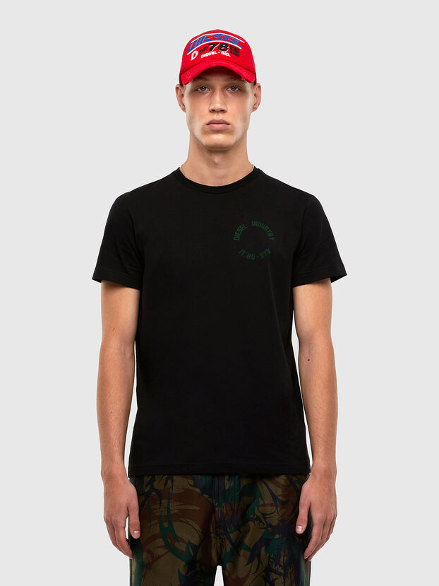 T-DIEGOS-N26, Black - T-Shirts