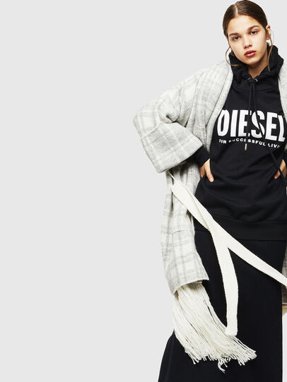 Diesel - M-BOU, Grey/White - Winter Jackets - Image 4