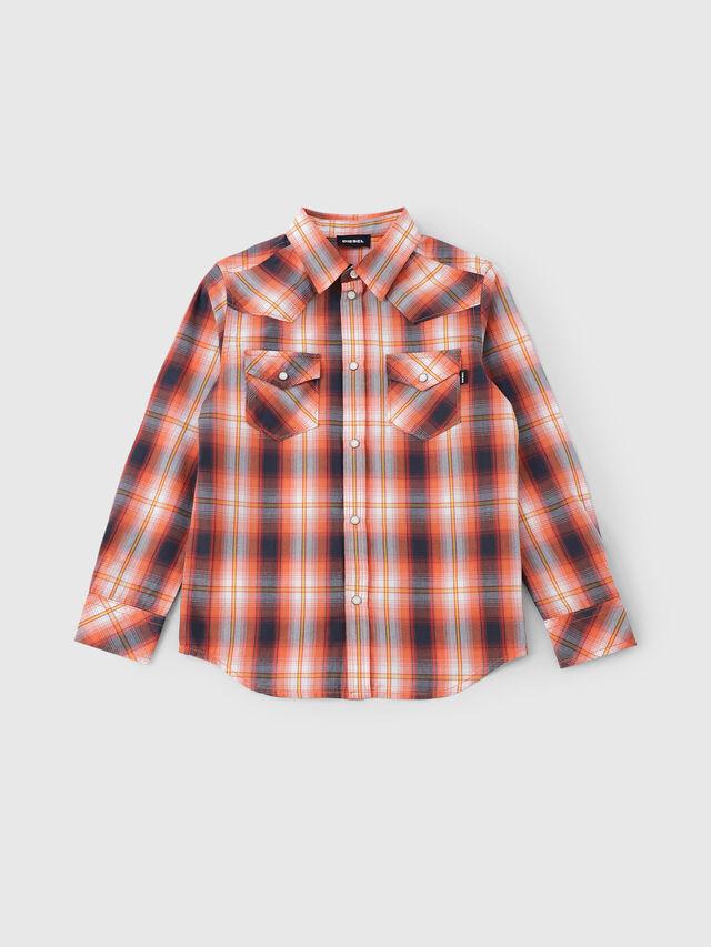 Diesel - CSEASTX, Orange/White - Shirts - Image 1