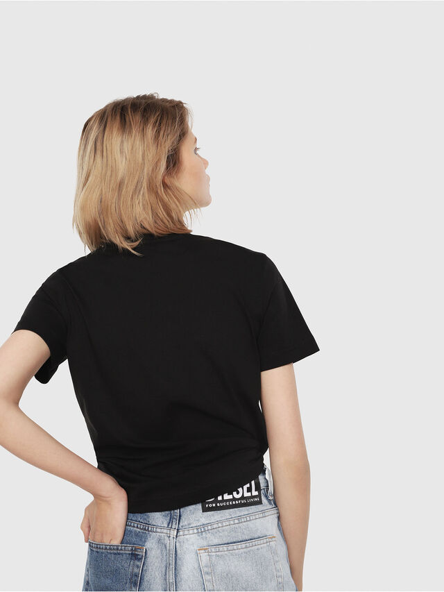 Diesel - T-SILY-C2, Black - T-Shirts - Image 2