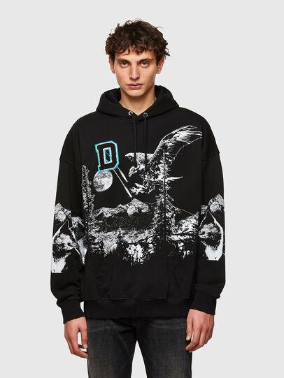 Diesel - S-UMMER-A82, Black - Sweaters - Image 1