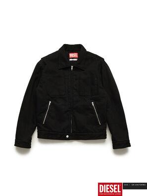 GR02-J301, Black - Denim Jackets