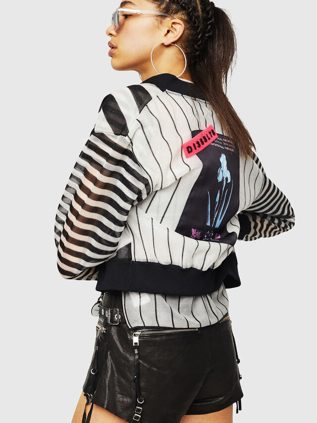 Diesel - M-DIXIT, Black/White - Knitwear - Image 4