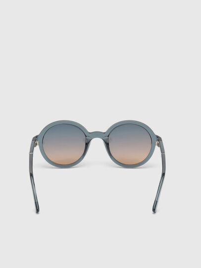 Diesel - DL0264, Blue - Sunglasses - Image 4