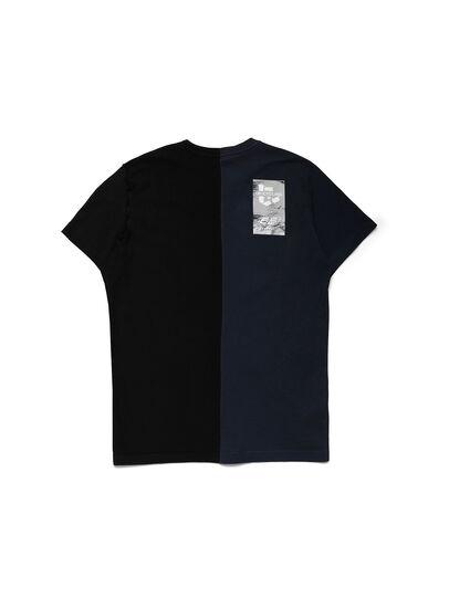 Diesel - D-MESO&MESO, Blue/Black - T-Shirts - Image 2