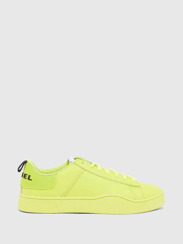 S-CLEVER LOW LACE, Yellow - Sneakers