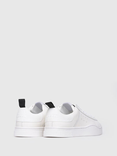 Diesel - S-CLEVER LOW W, White - Sneakers - Image 3
