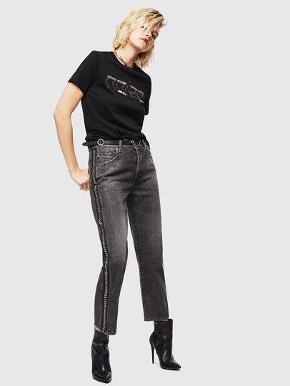 Diesel - Aryel 0096I, Black/Dark grey - Jeans - Image 7