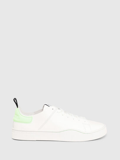 Diesel - S-CLEVER LS W, White/Green - Sneakers - Image 1