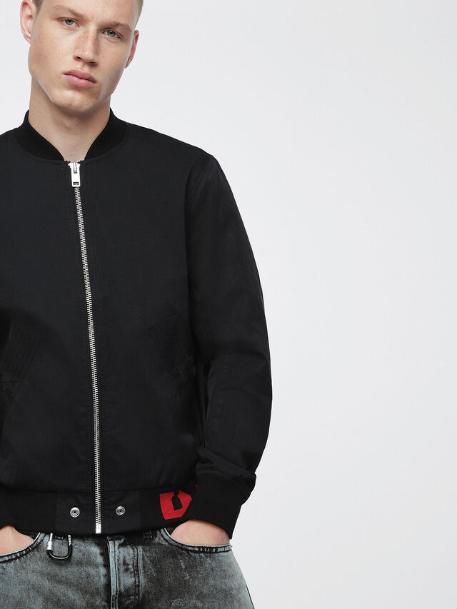 Diesel J-GATE, Black - Jackets - Image 1