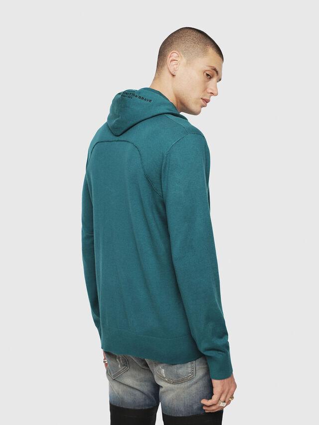 Diesel - K-MAXS, Dark Green - Knitwear - Image 2