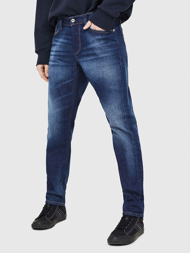 Diesel - Larkee-Beex 084GR, Dark Blue - Jeans - Image 1