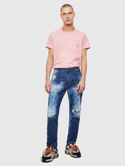 Diesel - Narrot JoggJeans 0099S, Dark Blue - Jeans - Image 6